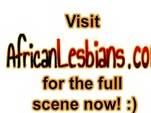 African bitches got together and quickly got naked. As they