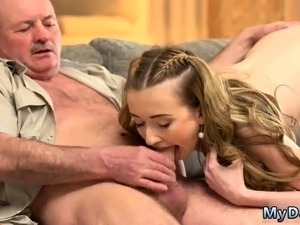 Verified amateur old man first time Russian Language Power