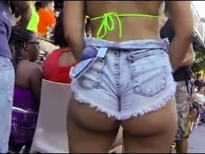 Attractive Latinas with wonderful asses voyeur compilation