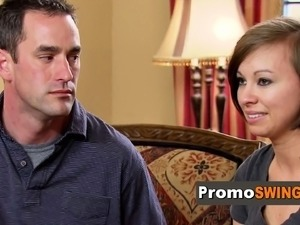 Swinger couple share what appeals them