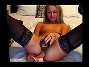 Teen College Webcam POV CamsCa.com Cutie Solo Girl Plays Nice Pussy  No
