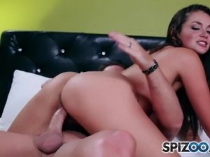 Allie Haze Mob Wife is fucked hard by a huge cock, big booty