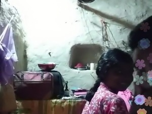 indian couple playing on webcam