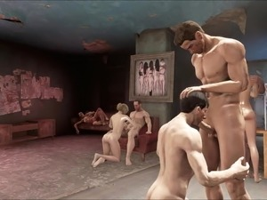 Fallout 4 Hostel Orgy