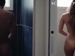 Ophelie Bau Naked Shower Sex Scene on ScandalPlanetCom