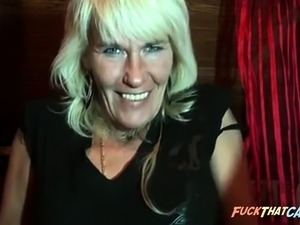 German Mature Will Eat You Up