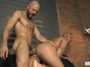 Latin gay casting couch with creampie