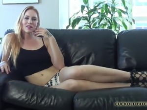 I met a hot stud that you can watch me fuck