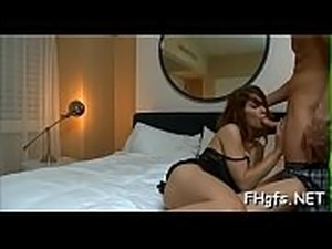 Beautiful angel is excited about the upcoming sex session