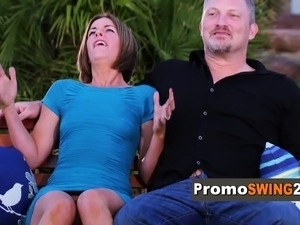 Swinger couple is hoping this is the best experience ever