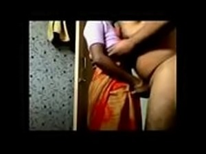 Desi Husband Flashing and fuck maid