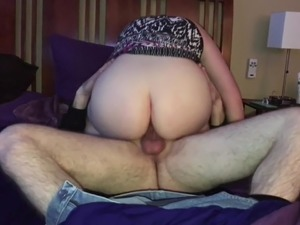 Riding a big cock