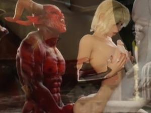 3D Satan And His Helpers Bang Girl!