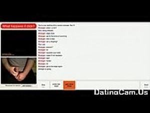 Hot Pre Cum and Huge Cumshot on Omegle Chatroulette