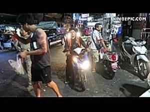 Thai Girls in Pattaya Walking Street Thailand!