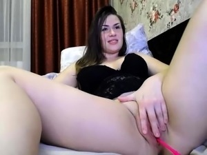 Rough Toy Fat BBW Masturbation
