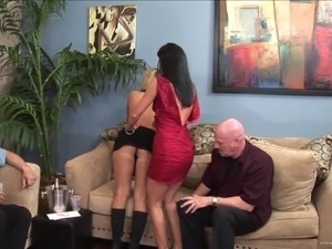 Sexy MILFs Gets Screwed In A Hot Swinger Foursome