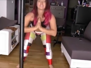 Sexy spandex leggings workout farts