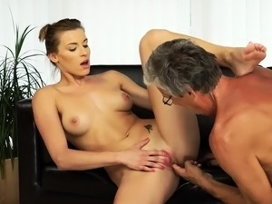 Old mexican granny anal and man care Sex with her