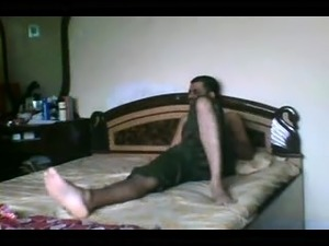 Lustful Indian wife gets pounded missionary style on the bed