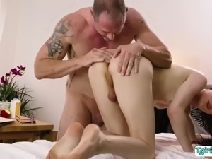 Trans masseuse stefani special gets her juicy ass banged by d arclytes dick