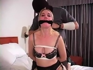 Bdsm Blonde In Stockings Hot