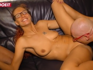 LETSDOEIT - Thick German Swinger Treated To Multiple Orgasms