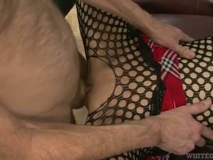 Amazing gangbang sex clip with tattooed blond milf