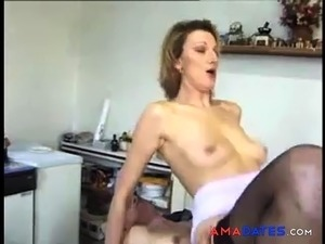 french old whore taking it up the ass