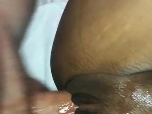 Cheating with tight ebony milf ends in cream pie