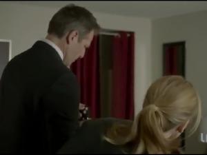Single Divorced Mom Ashley Jones gives away Panties to Dom