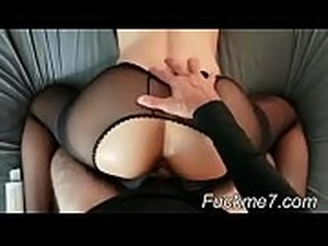 Wife gets fucked by huge king cock strap on