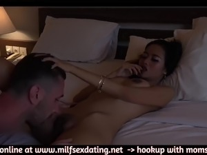 Fucking a cute small indonesian milf stranger from internet