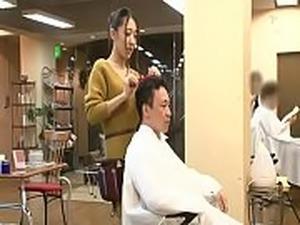 CMD-013 Temptation Beauty Shop Kaoriba Ria - Tiệm cắt t&oacute_c sung...