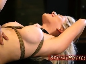 Rough gangbang party Big-breasted light-haired beauty Cristi
